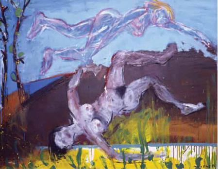 Lilith Technique mixte sur toile. 114 x 146 cm