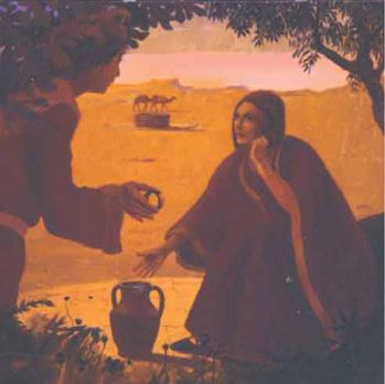 Rebecca Acrylique sur toile. 120 x 120 cm
