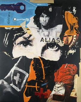 Jim Morrison - Huile sur toile - 170 x 140 cm