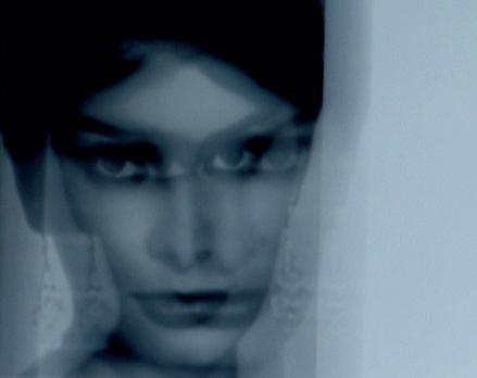 """""""Sophia Loren"""". Projection numérique. 73 x 92 cm."""
