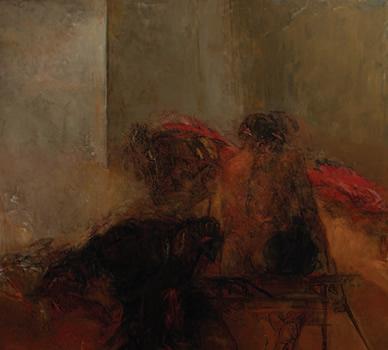 """""""Judith"""". Huile sur Toile 180 x 200 cm."""