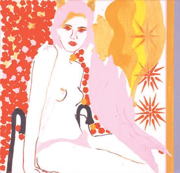 """""""Lilith"""". Acrylique et couleurs industrielles sur toile. 120 x 120 cm."""