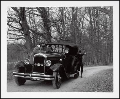 """""""Fifty fictif"""". Deux Photos noir et blanc et texte. 60 x 70 cm"""