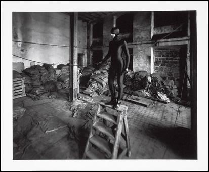 """""""Fifty fictif"""". Trois Photos noir et blanc et couleur et texte. 60 x 70 cm"""