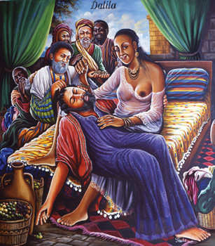 """""""Dalila"""". Acrylique sur toile. 150 x 130 cm."""