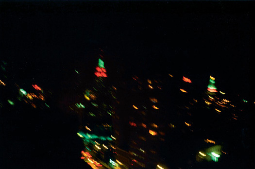 """Asphalt Jungle Color 1. NYC"". Tirage cibachrome. 67 x 100 cm. Edition de 2."